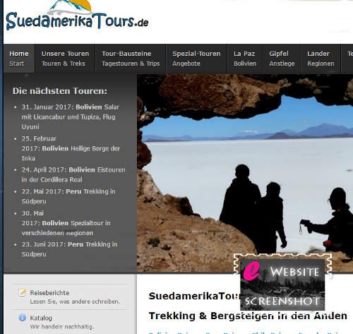 Suedamerika Tours