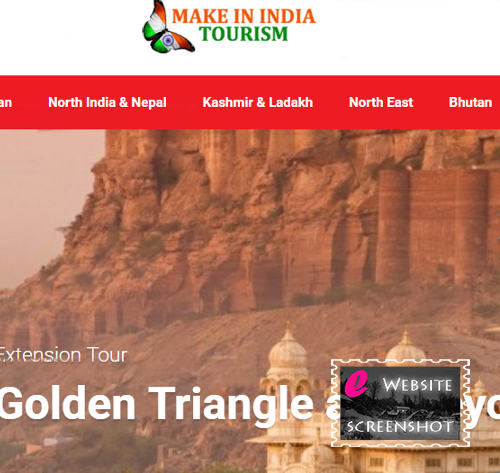Make in India Tourism