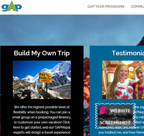 Gap Year Nepal