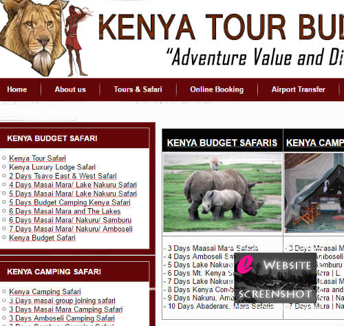 Kenya Tour Budget Safari
