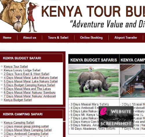 Kenya Tour Budget Safari