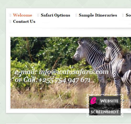 Watu Safaris