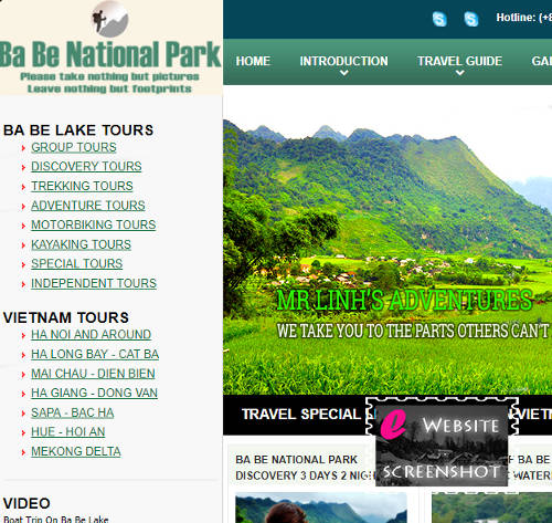 Ba Be National Park