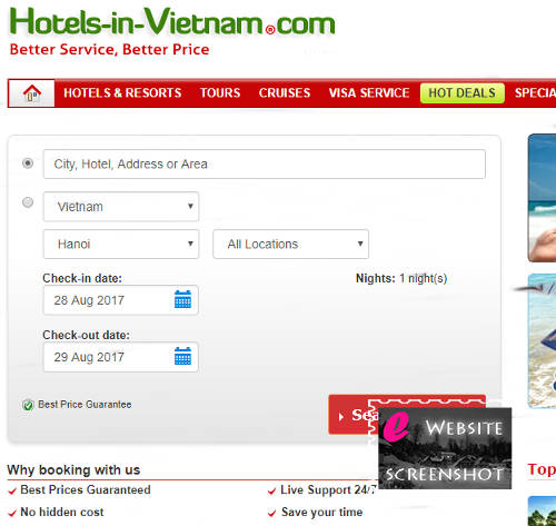 Hotels in Vietnam