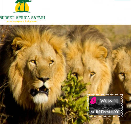 Budget Africa Safari