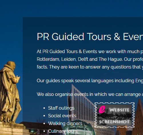 PR Guided Tours & Events