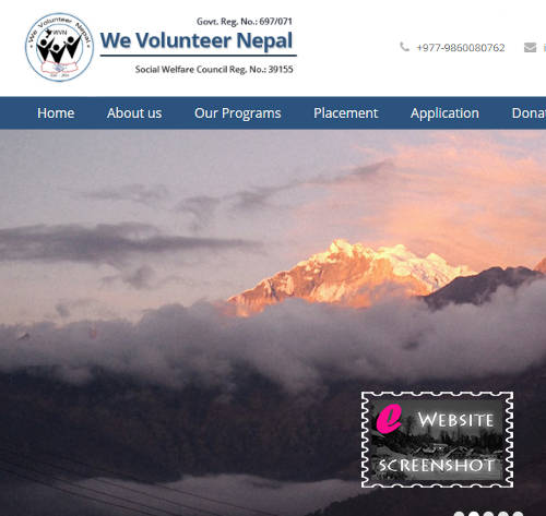 We Volunteer Nepal