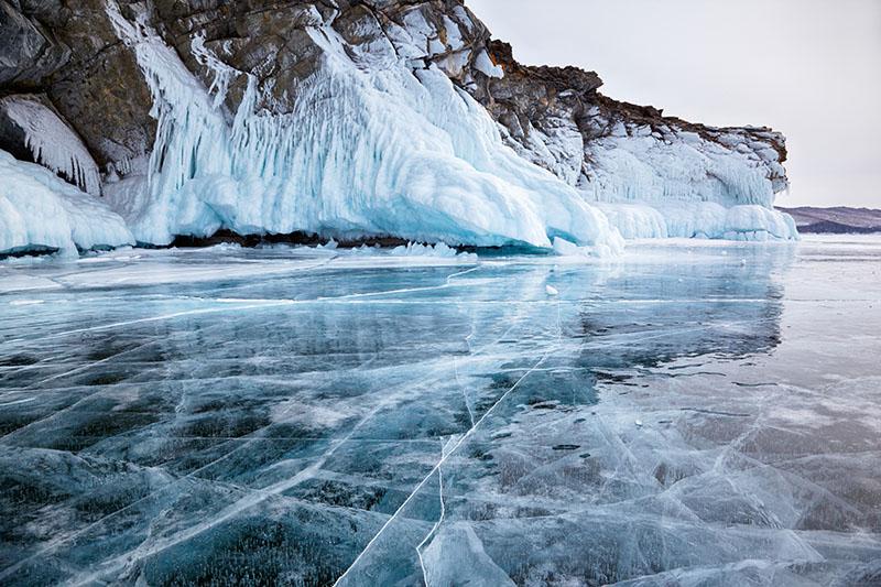 Baikal on ice