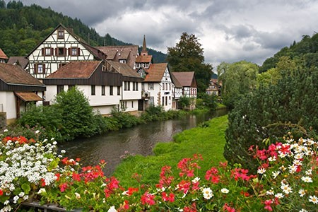 Village in germany