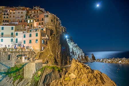 Cinque Terre Awesome night view