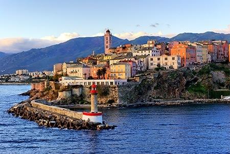 Corsica Beach view
