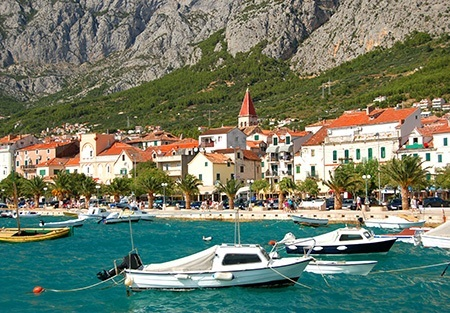 Dalmatian Coast Sea view