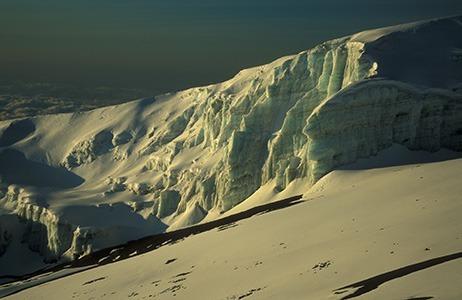 Kilimajaro ice