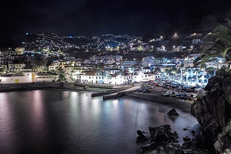 Madeira awesome view at night