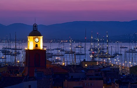 Saint Tropez at Night