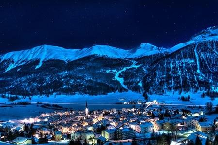 St Moritz area