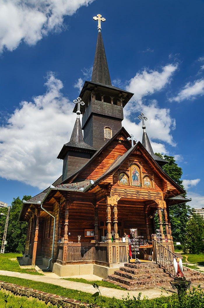 Biserica ortodoxa in Baile Felix, Romania