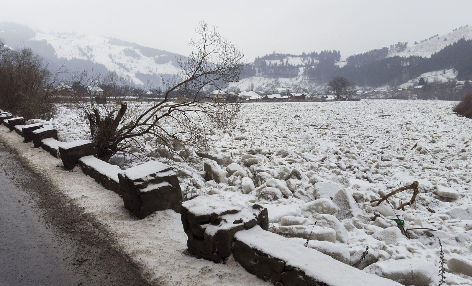 Iarna in Romania - Județul Bistrița-Năsăud