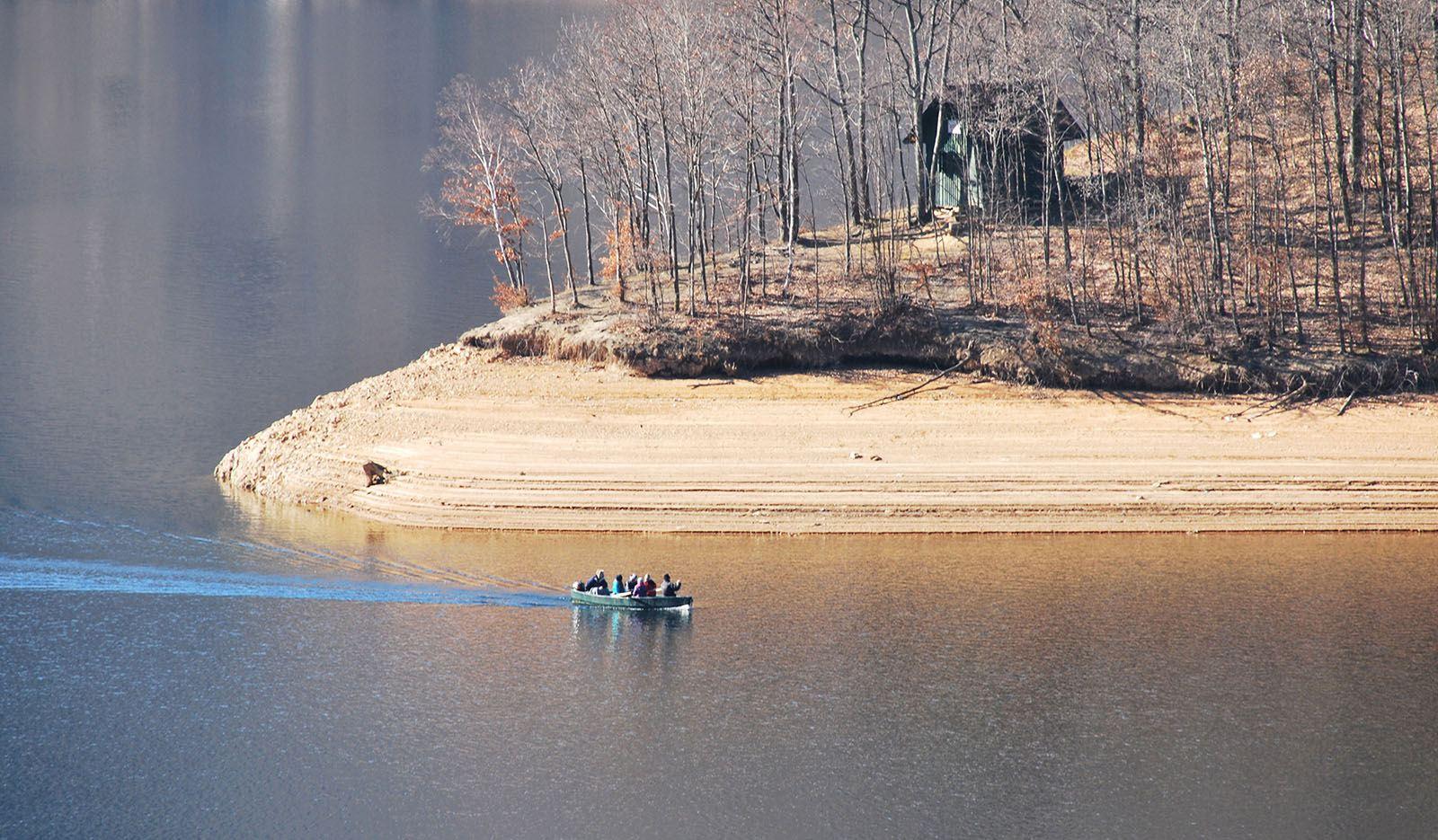 Lacul Tarnița toamna
