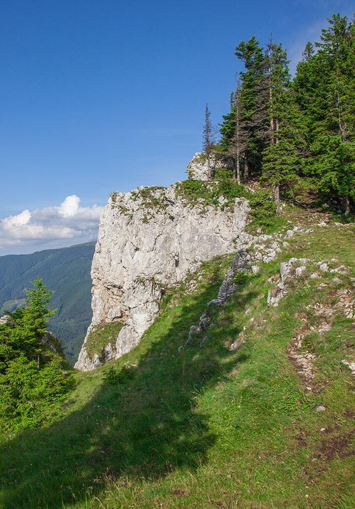 Peisaj de munte in Județul Suceava