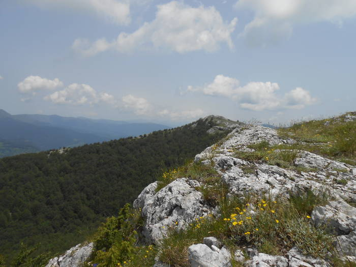 Mehedinti Mountains Ridge
