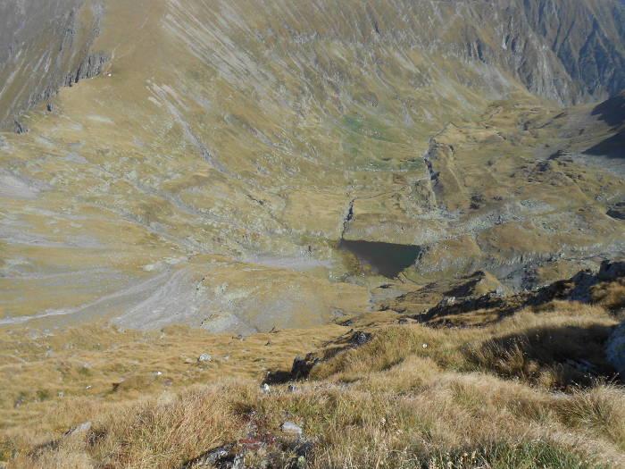 Triangular Lake, View from Moldoveanu Peak