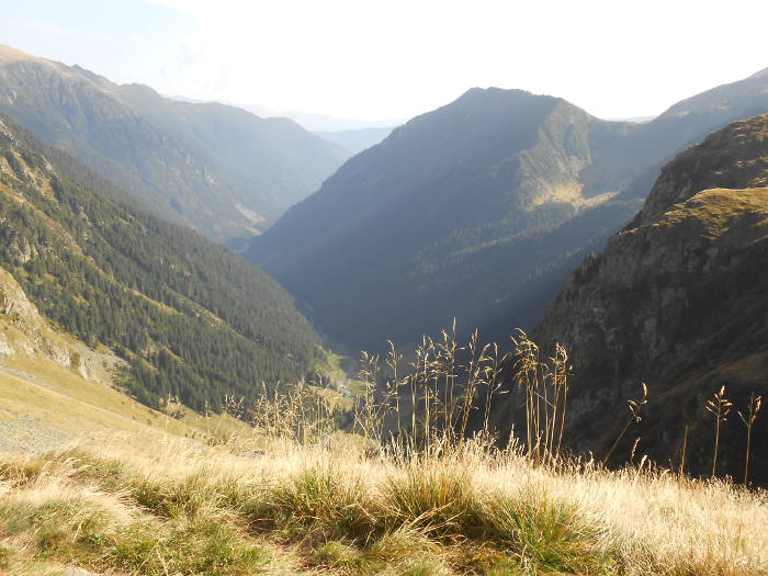 View from Valea Rea